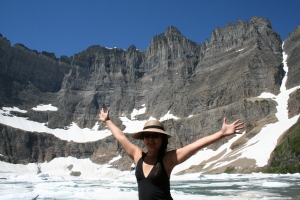 Iceberg Lake in Glacier National Park